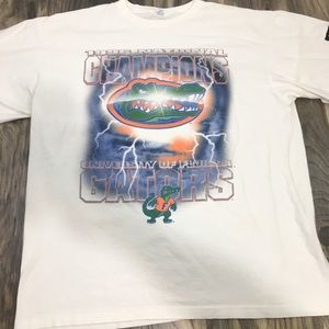 VTG 96 Florida Gators Championship Shirt L